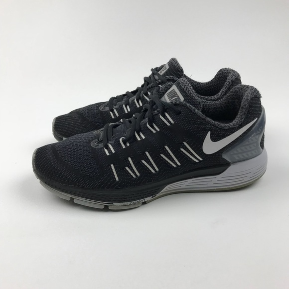 release date d0d11 67210 Nike Air Zoom Odyssey Black Knit Running Trainers